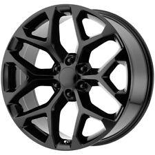 4 Replica Rp 09 Snowflake 24x10 6x55 24mm Gloss Black Wheels Rims 24 Inch