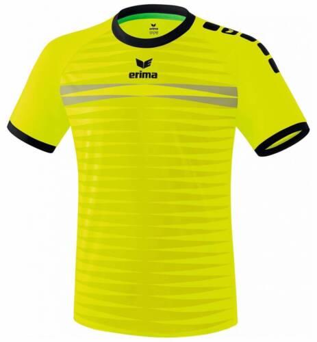 Erima Ferrara 2.0 Trikot neon gelb-schwarz Kinder NEU 92485