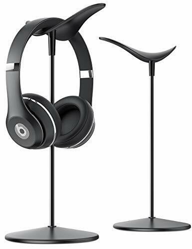 Headphone Headset Earphone Stand - Universal Headset Holder, with Aluminum Base