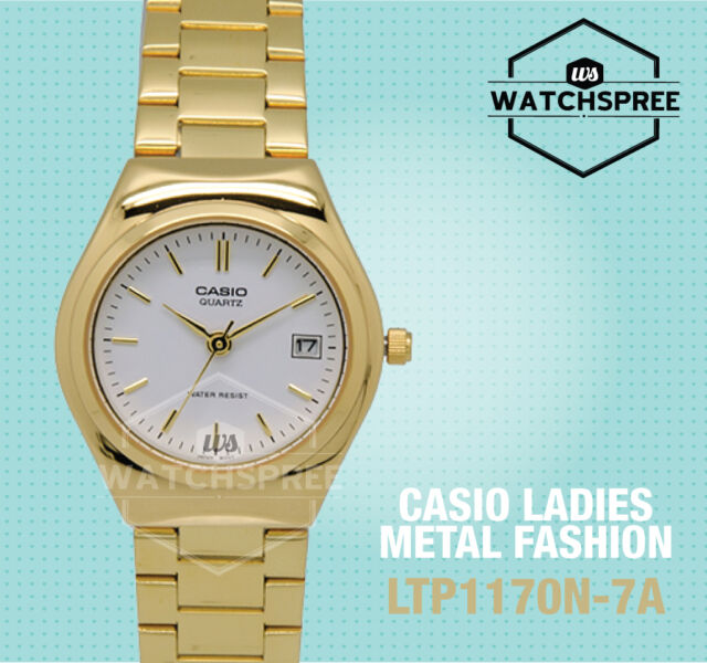 Casio Ladies Standard Analog Watch LTP1170N-7A