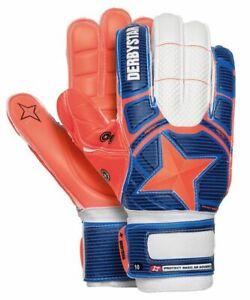 Derby-Star-Calcio-Guanti-Da-Portiere-Protect-Basic-AR-Advance-Uomo-Blu-Arancione