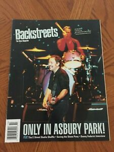 Details about BRUCE SPRINGSTEEN Backstreets Magazine #73 Winter 2001/2002  Only In Asbury Park!
