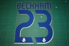 Real Madrid 06/07 #23 BECKHAM Homekit Nameset Printing
