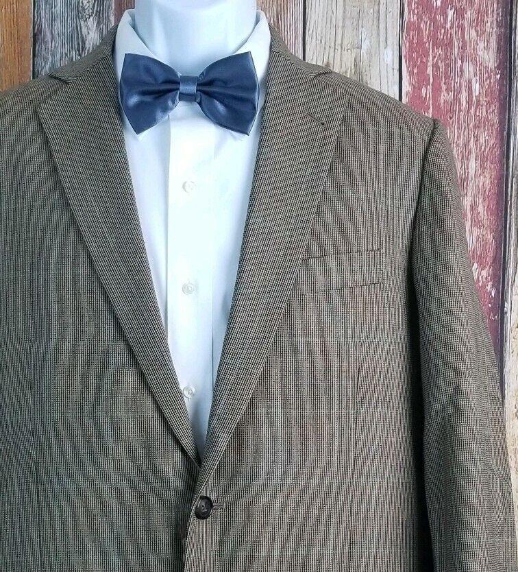 Brooks Bredhers 1818 Fitzgerald Wool Brown Sport Coat 40R Regular