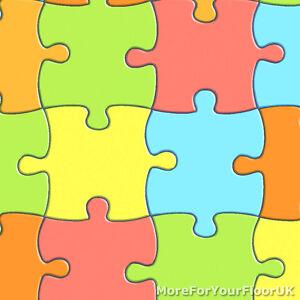 jigsaw vinyl flooring playful kids multi colour childrens