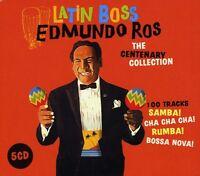 Edmundo Ros - Latin Boss: Centenary Collection [new Cd] Uk - Import on Sale
