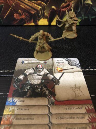 Zombicide GREEN HORDE New Kickstarter Exclusive Hero Spearhead + Dash Card
