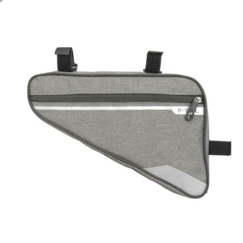 Cycling Outdoor Triangle Bicycle Front Tube Frame Bag Mountain Bike Pouch F07#