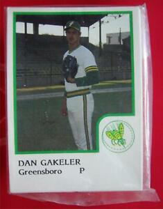 GREENSBORO-HORNETS-1986-PROCARDS-TEAM-SET-TUFF-TO-FIND