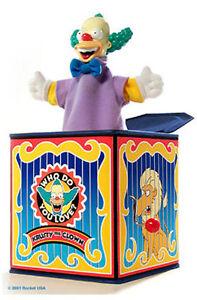 Boîte à musique Krusty Simpsons 15cm Rocket Usa