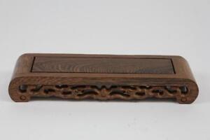 23-cm-Blumen-Bonsai-Sockel-Untersetzer-Holz-China