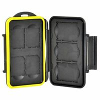 Jjc Mc-xqdsd7 Waterproof Memory Storage Case Protector For 3 Xqd + 4 Sd Cards