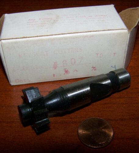 woodruff cutter taper shank B/&S 7//8 x 1//4 new keyway