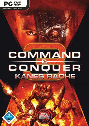 1 von 1 - Command & Conquer 3: Kanes Rache (dt. Erweiterung) (PC, 2008, DVD-Box) +NEU+OVP+