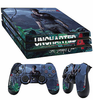 Active Ps4 Pro Piel Uncharted 4 Un Ladrón End Drake Pegatina 2 X Pad Vinilo Lay Relieving Heat And Thirst. Video Games & Consoles Video Game Accessories