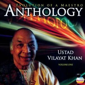 VILAYAT-KHAN-ANTHOLOGY-EVOLUTION-OF-A-MAESTRO-VOL-1-USED-VERY-GOOD-CD