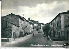 um 17 1958 - Ficulle (Terni) Borgo Garibaldi - viagg Ed. Alterocca Terni