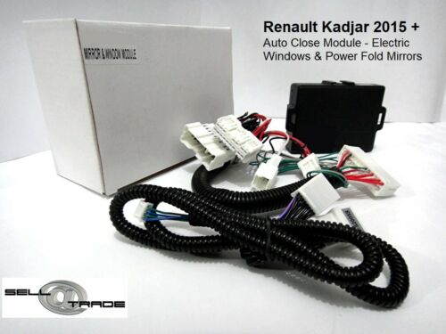 2015 Auto Close Module Windows /& Door Mirrors Renault Kadjar