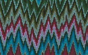Rowan-Kaffe-Fassett-Bargello-Flame-Stripe-PWGP134-Dark-Cotton-Fabric-By-the-Yard