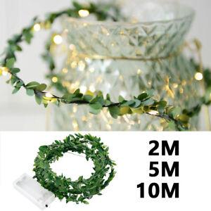 LED-Guirlande-Lumineuse-Fil-Fee-Cuivre-Party-Noel-Fete-Jardin-Mariage-Decor-BM
