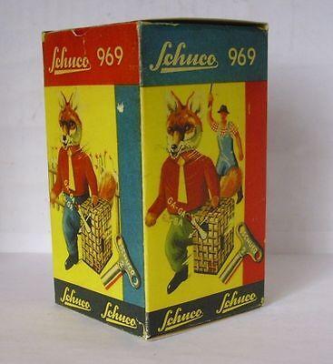 Menschen Begeistert Repro Box Schuco Fuchs Mit Gans Nr.969