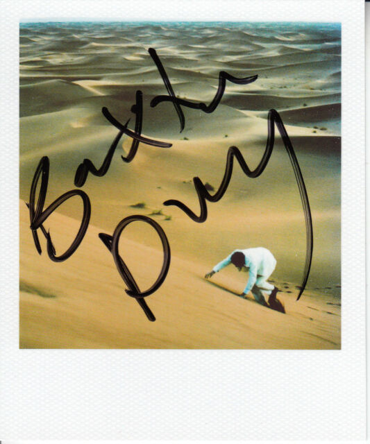 BAXTER DURY Prince Of Tears promo only SIGNED / AUTOGRAPHED polaroid photo + CoA