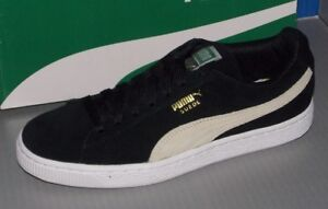 Image is loading WOMENS-PUMA-SUEDE-CLASSIC-in-colors-BLACK-SIZE- ddee915ca