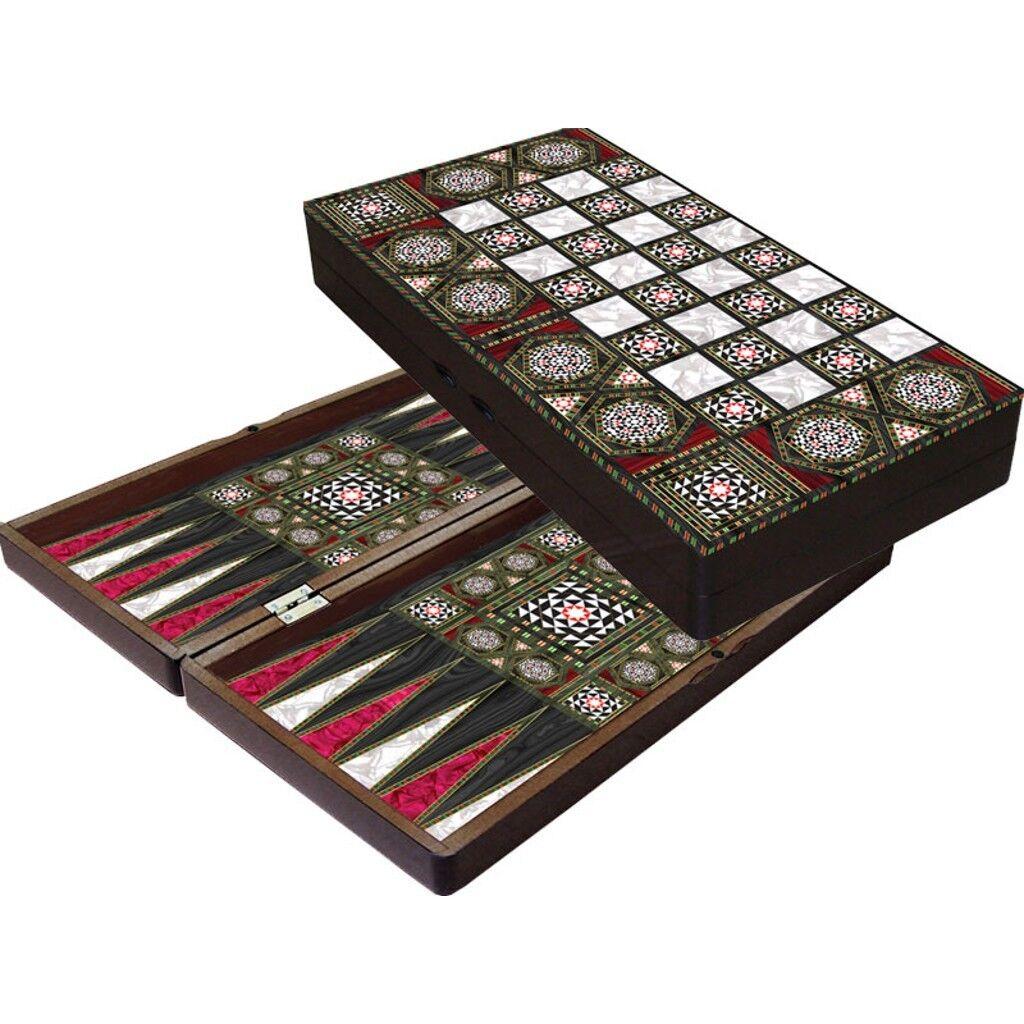 orientalisches luxus tavla backgammon in uttwil kaufen bei. Black Bedroom Furniture Sets. Home Design Ideas