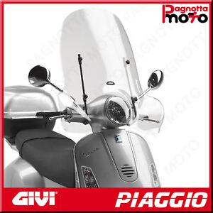 PARABREZZA SPECIFICO TRASPARENTE 51,5 X 69,5 PIAGGIO VESPA GTS 250 2006>2018