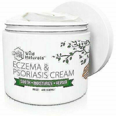 Wild Naturals Eczema And Psoriasis Cream 4oz For Sale Online Ebay