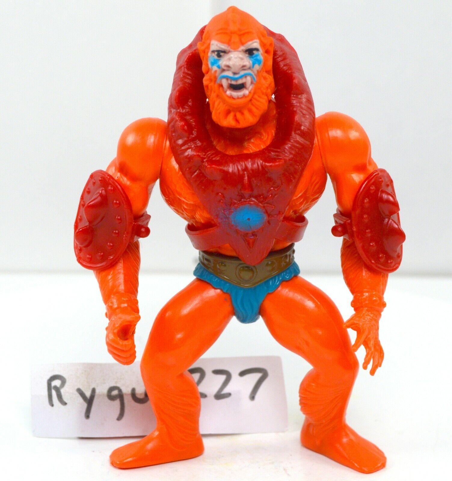 MOTU, Beast Man, With Armor, Masters of the Universe, vintage, figure, He-Man