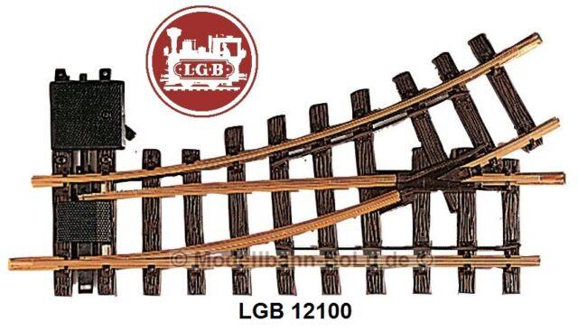 R1 30° Neuware LGB 12100 Handweiche links