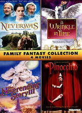 Family Fantasy Collection 4 DVDs  The Neverending Story 3: Escape from Fantasia