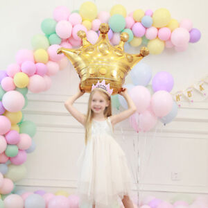 28-039-039-Gold-Crown-Large-Balloon-Foil-Helium-Baby-Princess-Birthday-Wedding-Party