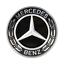 Original Mercedes-Benz Motorhaube Ersatz Stern Emblem Schwarz GLE