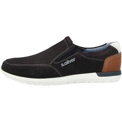 Freundlich S.oliver 5-14607-22 Schuhe Men Herren Halbschuhe Slipper Mokassin 5-14607-22-805