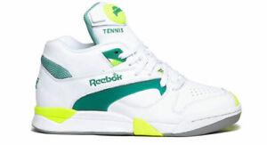 05bae277386 Reebok Court Victory Pump size 8 Michael Chang. white green citron ...