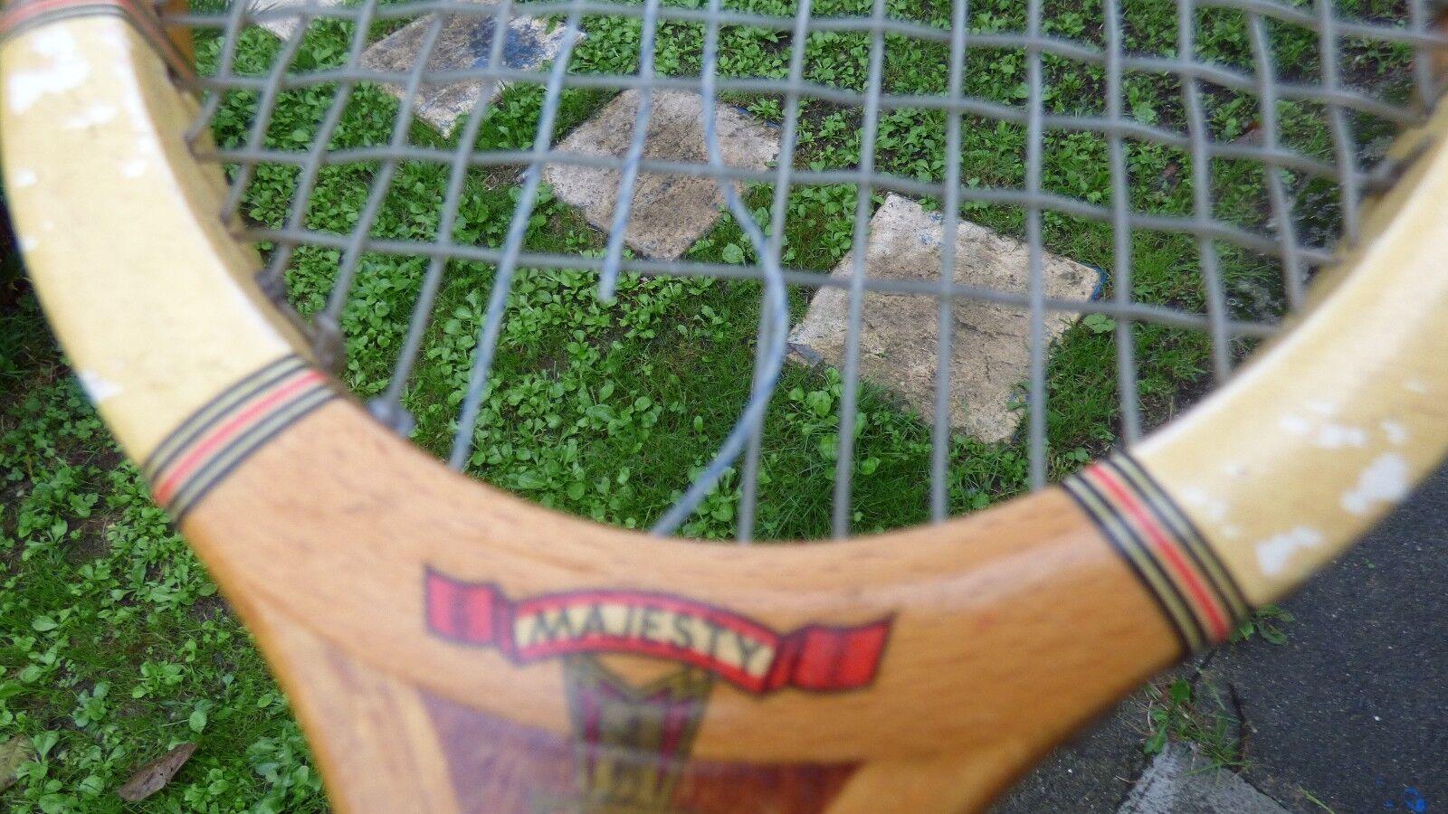 Tennisschläger vintage Artus Artus Artus Majesty aus Holz c9e5c9