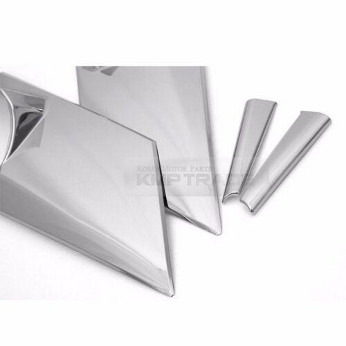 Side Mirror Bracket A Pillar Chrome Trim for 07-16 Hyundai Starex i800 iMax H1
