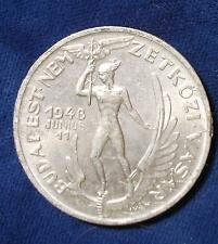 1948 Budapest International Fair Medal AU+