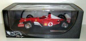 HotWheels 1/18 - 54627 FERRARI F-2002 - Rubens Barrichello