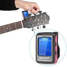 Clip-on Guitar Tuner For Electronic Digital Chromatic Bass Violin Ukulele EM#01