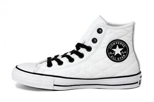 Converse All Star Hi Quilted Bianche imbottite White LIMITED EDITION