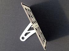 APRILIA SR50 Roller Tuning Kennzeichenhalter seitlich R LC SR 50 Factory POLIERT