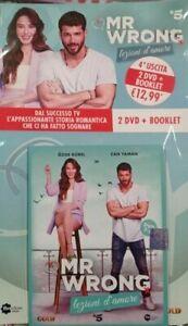 MR WRONG DVD  LEZIONI D'AMORE Uscita Vol 4(DVD 7,8) SERIE TV CAN YAMAN