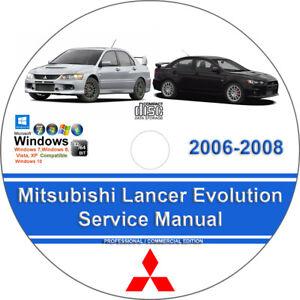 mitsubishi lancer manual 2008