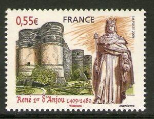 TIMBRE 4326 NEUF XX LUXE - RENE 1ER D'ANJOU - STATUE A AIX EN PROVENCE