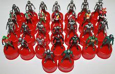 Masked Rider Kamen Bottle Cap Figure Set of 30 Seven Eleven 2002 Series Bandai