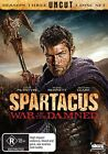 Spartacus - War Of The Damned (DVD, 2013, 3-Disc Set)