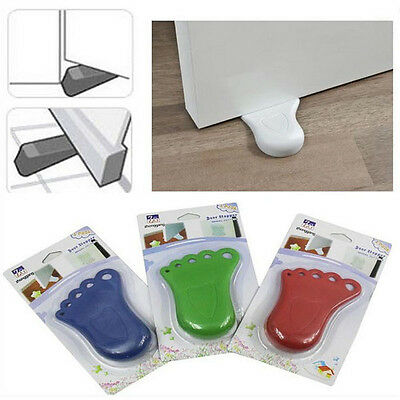 Foot Shape Finger Safety Door Stopper Protector Wholesales 2014
